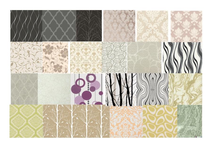 Contemporary Wallpaper Design Moodboard