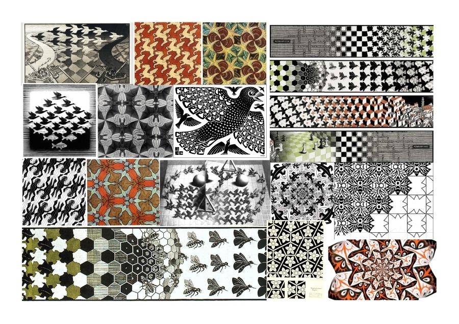 M C Escher Moodboard