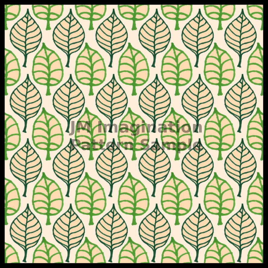 9 Leaf Repeat Cream.jpg